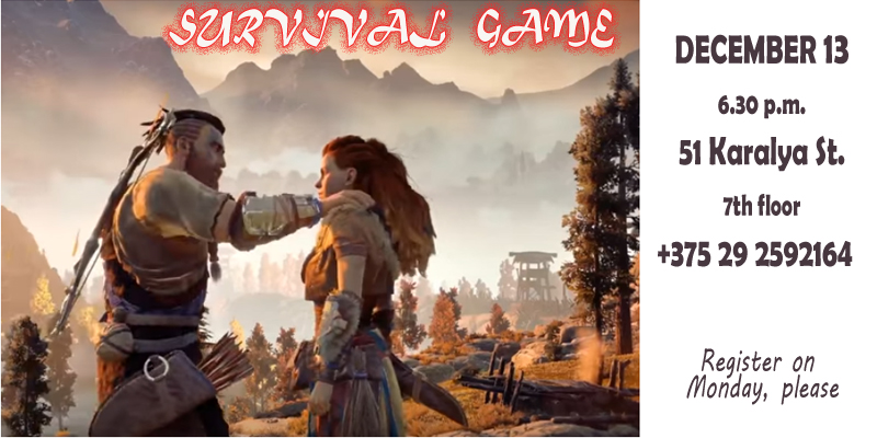 Survival Game: Decision Making Training