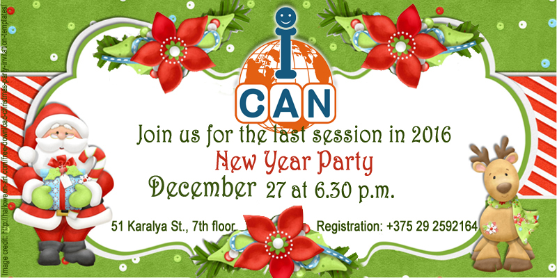 New Year Party in ICAN Club