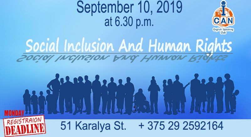 Social Inclusion And Human Rights