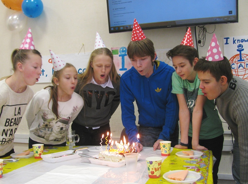 The 9th Birthday Party in ICAN Club for Young Learners