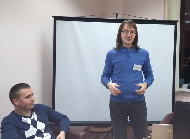 "Publiс speaking in ICAN Club (Minsk): presentation of jobs Клуб для англоговорящих ""ICAN"" в Минске: практика английского публичные выступления"