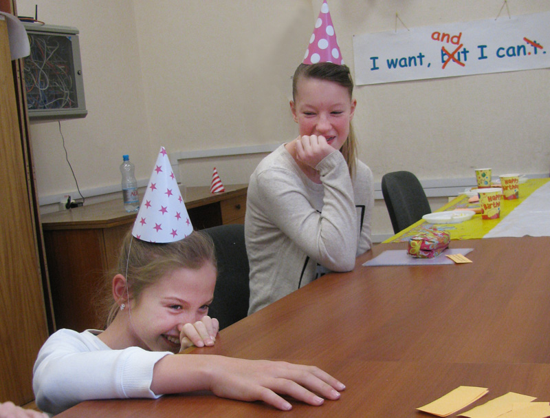 Tell or Dare party game for young learners in English