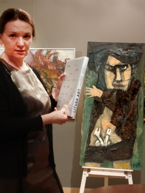 Lecture on Chaim Soutine, School of Paris, by Youri Abdourahmanov, Heritage&Time, modern art in Belarus