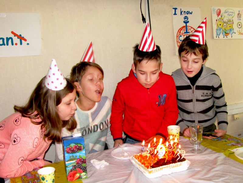 9th Birthday ICAN Club young learners party