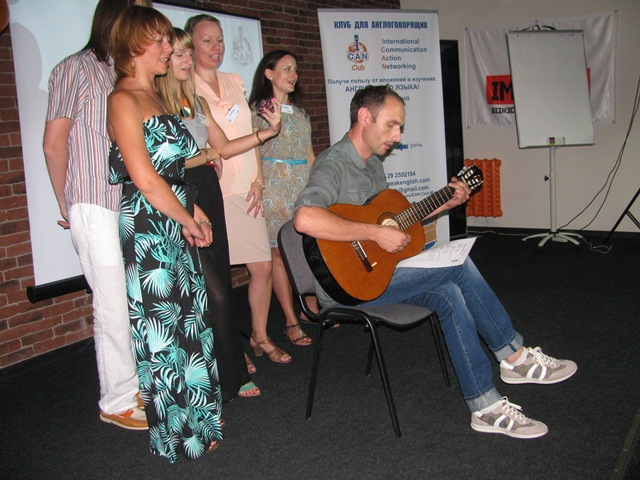 Celebration of the 10th anniversary of ICAN Club, the best place in Minsk to practice English