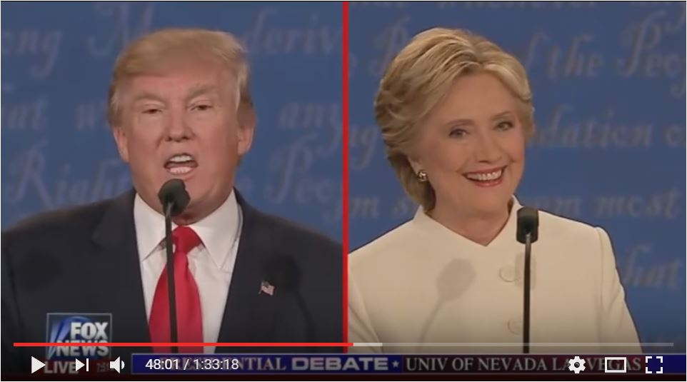 the FULL FINAL DEBATE between Donald Trump and Hillary Clinton on October 19, 2016 in the University of Nevada Las Vegas