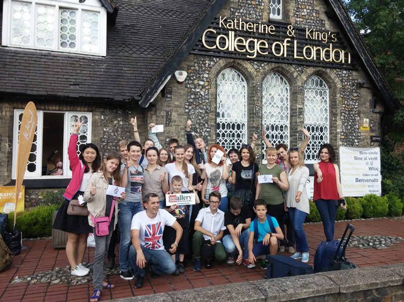 A trip to London to study English in KKCL English school