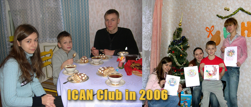 9th Birthday Party in ICAN Club, a club to practice English