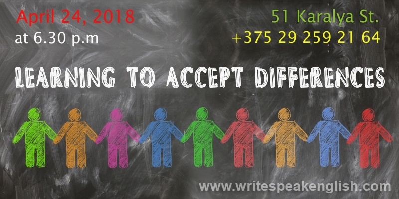 LEARNING TO ACCEPT DIFFERENCES