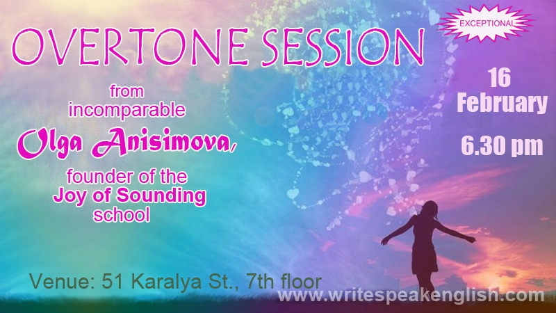 Overtone Session