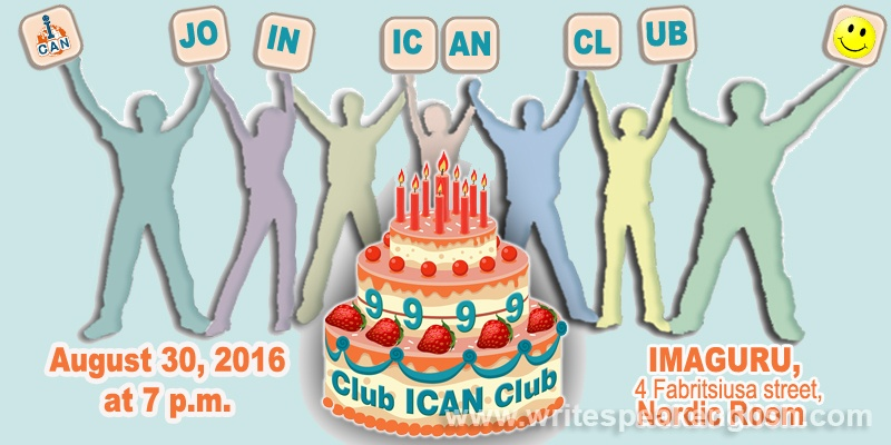 ICAN Club's 9th Birthday Party (free)